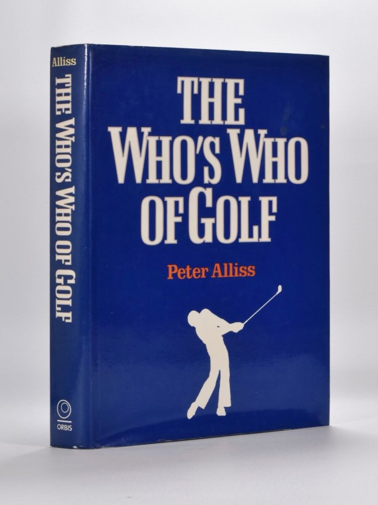 The Who´s Who of Golf. Peter Alliss.