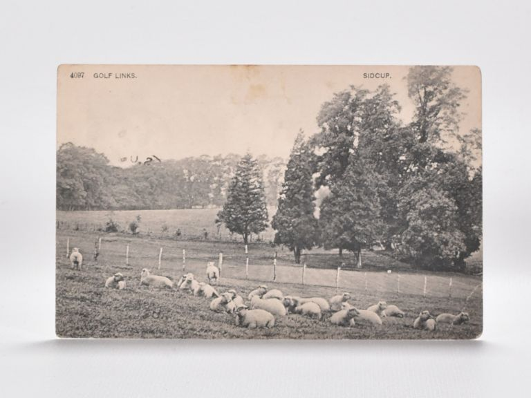 4097 Golf Links. Sidcup. Postcard.