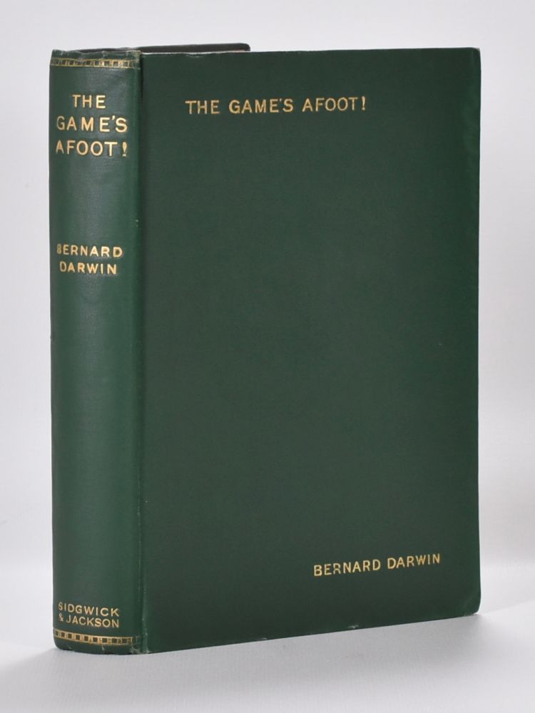 Games Afoot, The. Bernard Darwin.