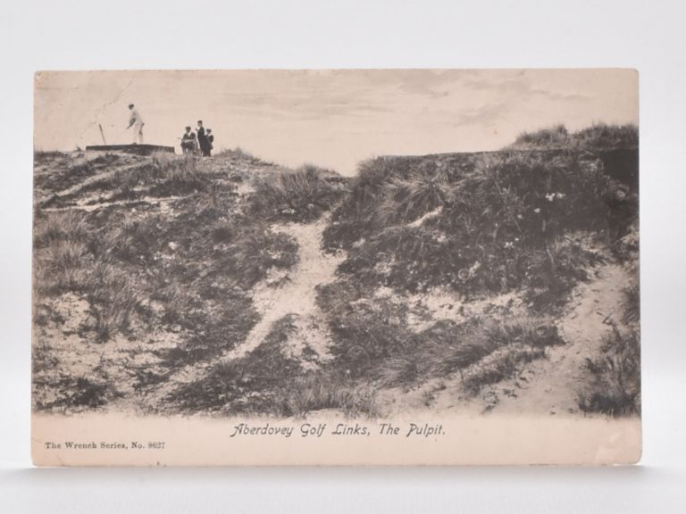 Aberdovey Golf Links, The Pulpit. Postcard.