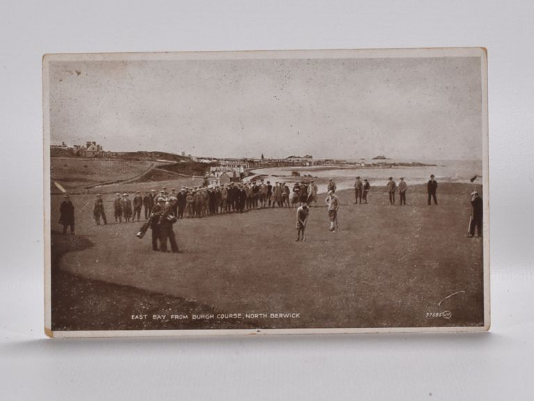 East Bay from Burgh Course, North Berwick 97085. Postcard.