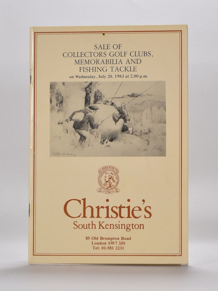Christies Golf Memorabilia 1983. Christies.