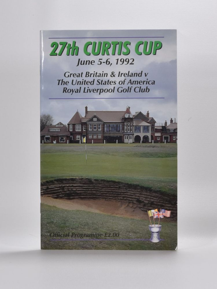 Curtis Cup. Ladies Golf Union.
