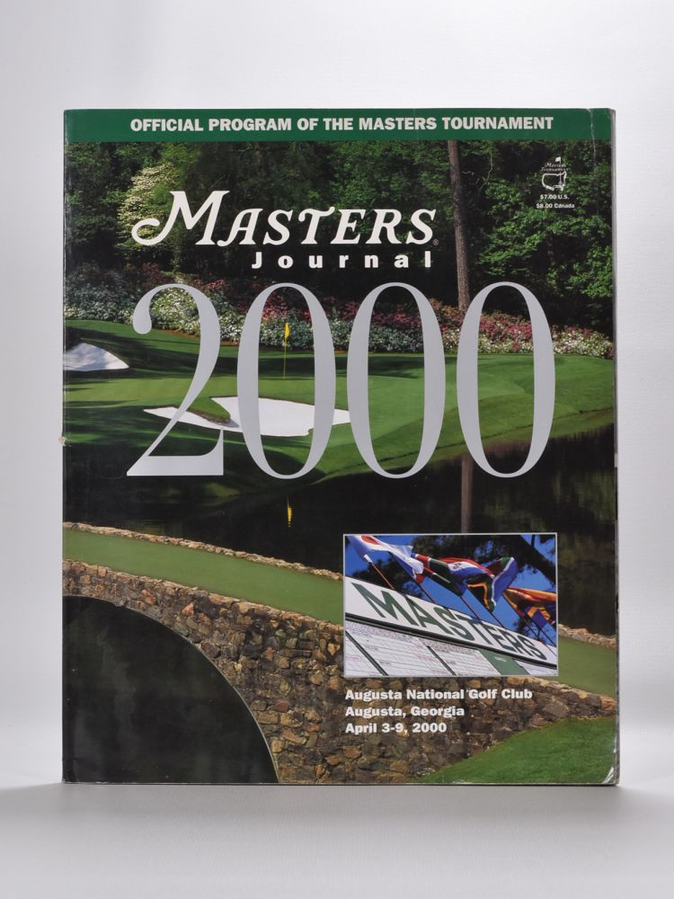 Masters Journal. Augusta National Golf Club.