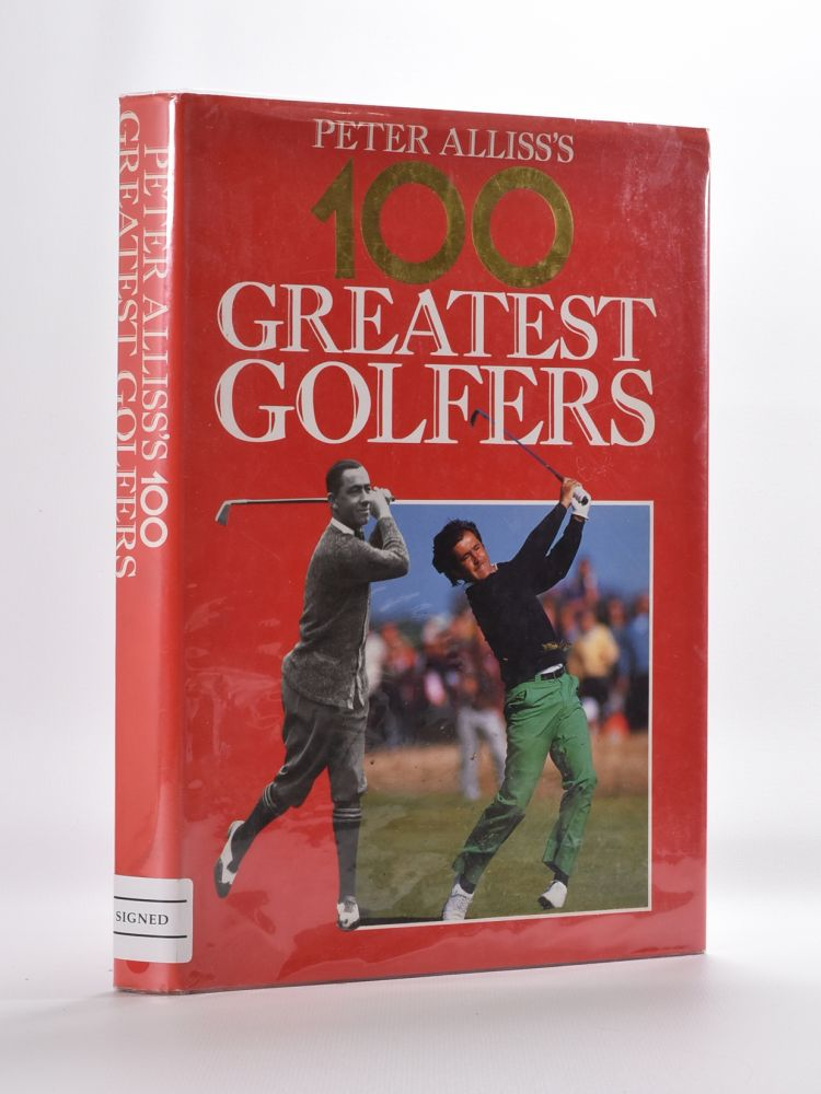 Peter Alliss's 100 Golfing greats. Peter Alliss.