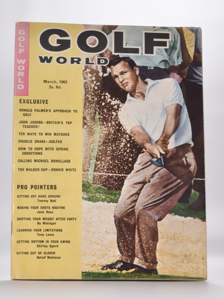 "Golf World Volume 1 No. 1 November 1962. Golf World ""Magazine"""