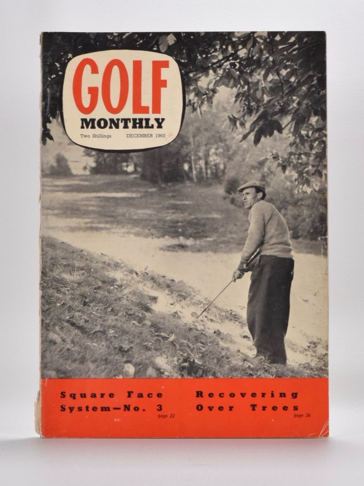 """Golf Monthly Volume 50 No. 1 January 1960 to No. 12 December 1960. Golf Monthly """"Magazine"""""""