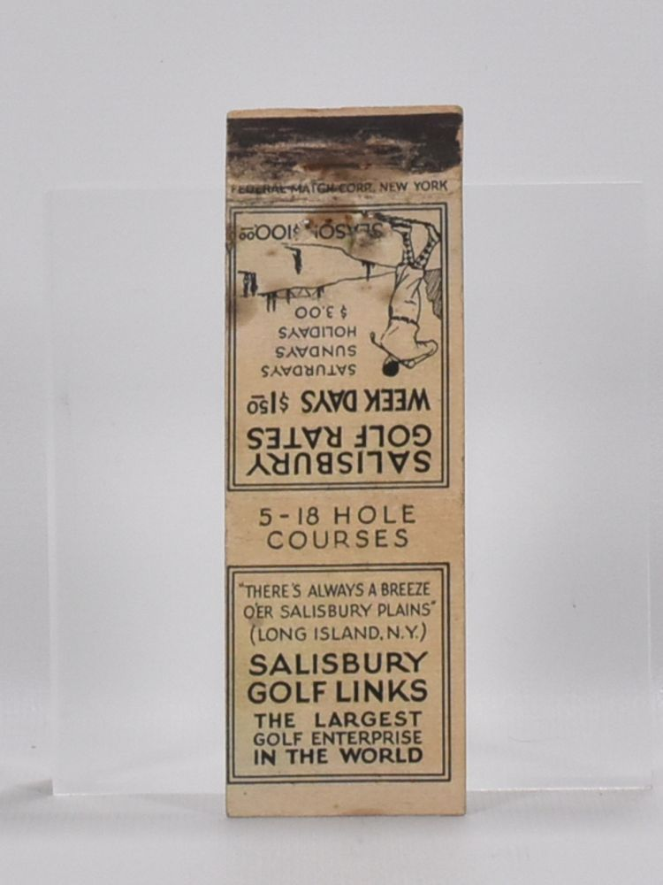 5 various book mark advertising golf. Book marks.