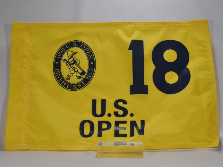 Pinehurst 1999 U.S. Open. Flag.
