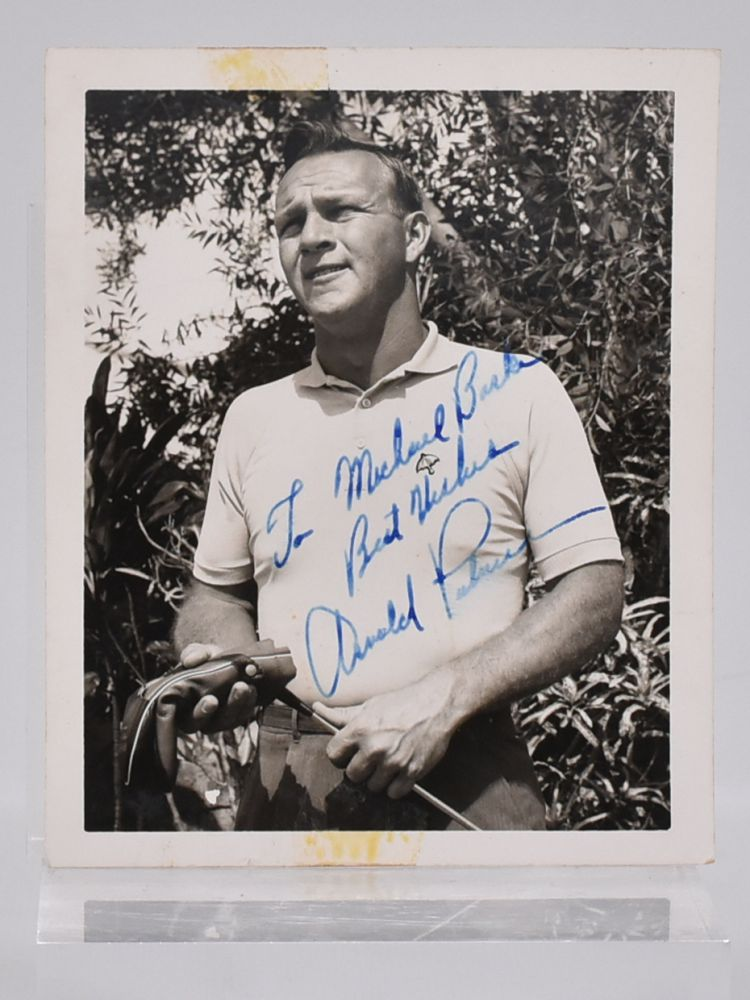 Signed Photograph. Arnold Palmer.