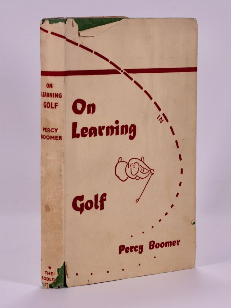 On Learning Golf. Percy Boomer.