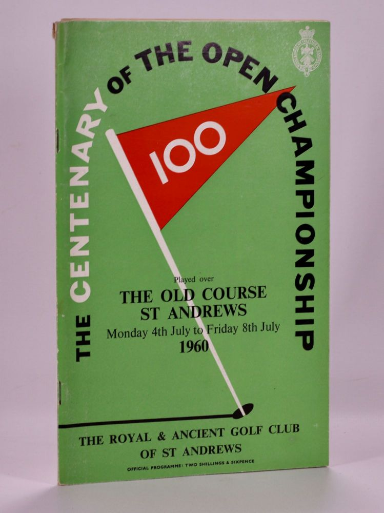 The Open Championship 1960. Official Programme. The Royal, Ancient Golf Club of St. Andrews.