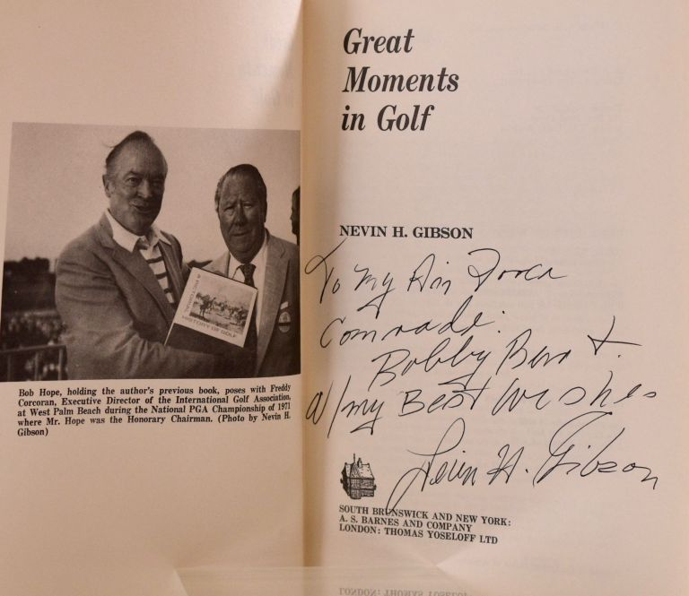 Great Moments in Golf. Nevin H. Gibson.