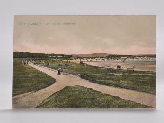 The Links and Sands, St. Andrews. Postcard