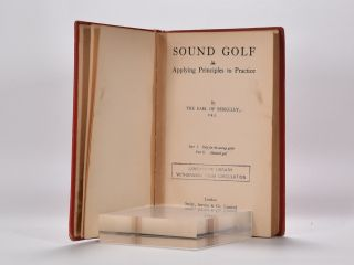 Sound Golf By Principles to Practice.