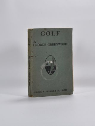 Golf. George Greenwood.