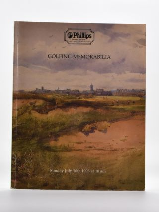 Phillips Golfing Memorabilia 1995 July 16th. Phillips