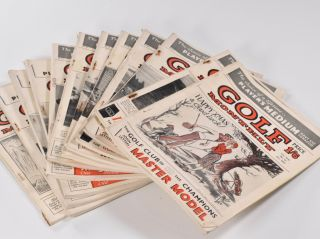 Golf Monthly Volume 42 No. 1 January to No. 12 December1952.