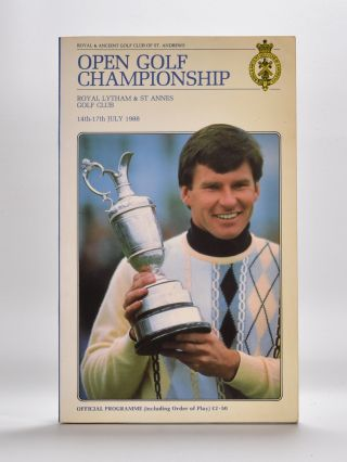 The Open Championship 1988. Official Programme. The Royal, Ancient Golf Club of St. Andrews