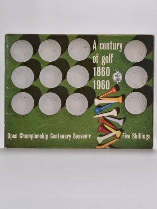 A Century of Golf 1860 - 1960. Tom Scott