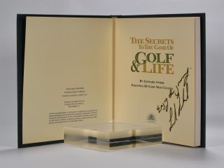 The Secrets to the Game of Golf and Life.
