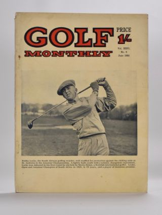 "Golf Monthly Volume 27 No. 6 June 1936. Golf Monthly ""Magazine"""