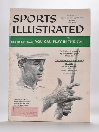 The Modern Fundamentals of Golf : 5 Issues - March 11, 18, 25, April 1, 8 - 1957. Sports Illustrated.