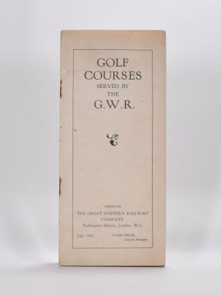 Golf Courses Served by the G.W.R