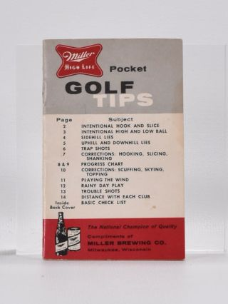 Pocket Golf Tips