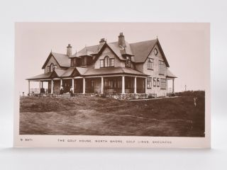 The Golf House, North Shore. Golf Links. Skegness. Postcard.
