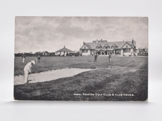 43961, Frinton Golf Club & Clubhouse. Postcard