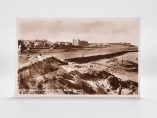 Old Course and Marine Hotel, North Berwick. Postcard