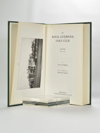 The Royal Liverpool Golf Club, a History 1869;1932.