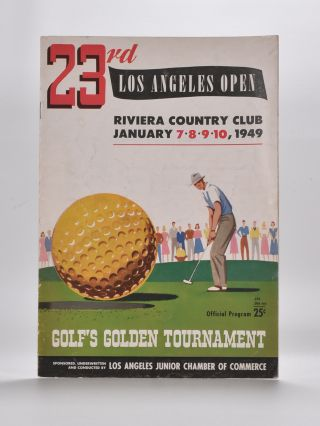 "Los Angeles Open ""official program"" 1949"