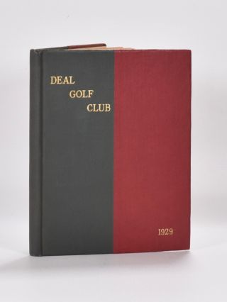 Deal Golf Club Club Roster Hand Book 1929. Deal Golf Club