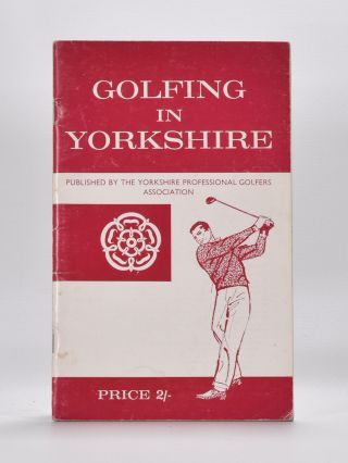 Golfing in Yorkshire 1964.