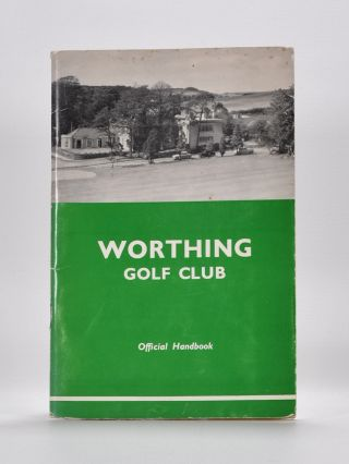 Worthing Golf Club. Robert Browning.