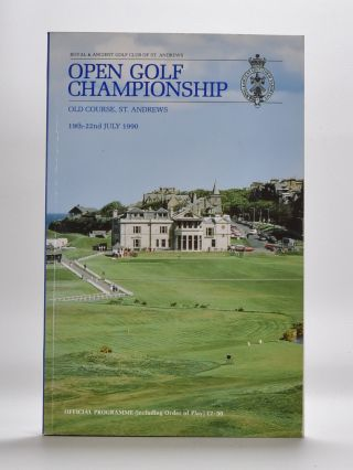 The Open Championship 1990. Official Programme. The Royal, Ancient Golf Club of St. Andrews
