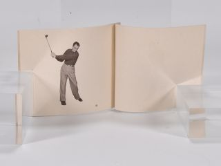 """Playing the Woods """"flip book""""."""