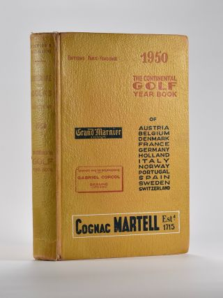 The Continental Golf Yearbook. Continental Yearbook.