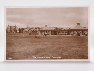 The Starter's Box, Carnoustie. 2659. Postcard