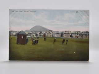 """The First Tee"" North Berwick R1437. Postcard"