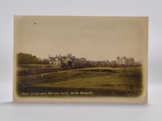 West Links and Marine Hotel, North Berwick No 2638. Postcard