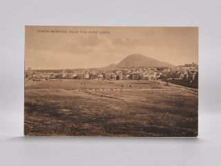 North Berwick from the West Links. Postcard
