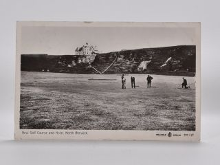 New Golf Course and Hotel, North Berwick 702/46. Postcard