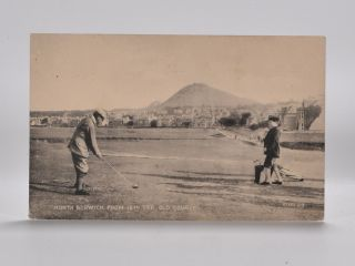 North Berwick from 18th Tee, Old Course 87382. Postcard