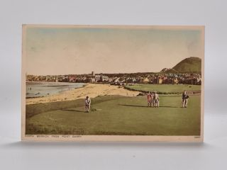 North Berwick from Point Garry 70893. Postcard