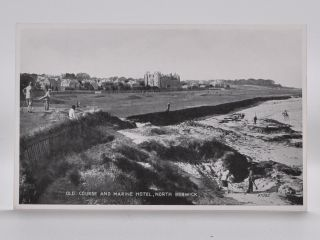 Old Course and Marine Hotel 97085. Postcard