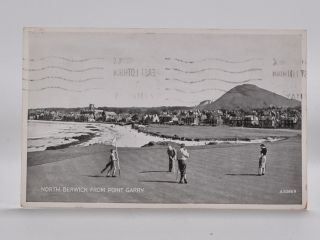 North Berwick from Point Garry 9366. Postcard