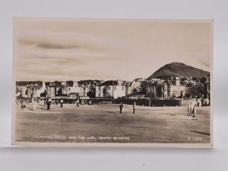 Putting Green and the Law, North Berwick 1309. Postcard.